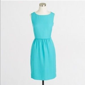 J. Crew Factory Sleeveless Ruched Dress - Size 0